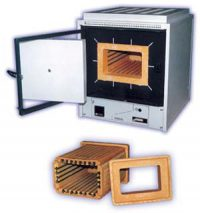 Муфельная печь SNOL 12/900 с программируемым теромрегулятором