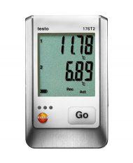 testo 176 T2 — 2-х канальный логгер данных температуры
