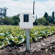 6345OV Беспроводная станция измерения температуры и влажности почвы