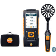 Анемометр Testo 440 Комплект с крыльчаткой 100 мм с Bluetooth®