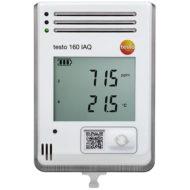 testo 160 IAQ – WiFi-логгер с дисплеем и встроенными сенсорами температуры, влажности, CO2 и атмосферного давления (0572 2014)